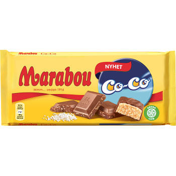 Choklad CoCo 185g Marabou