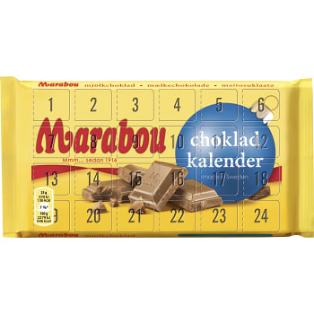 Chokladkalender 150g Marabou