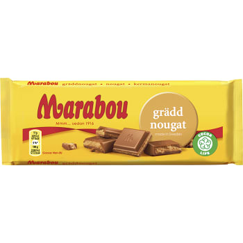 Gräddnougat 100g Marabou