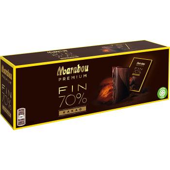 Premium 70% Cocoa 21-p 210g Marabou