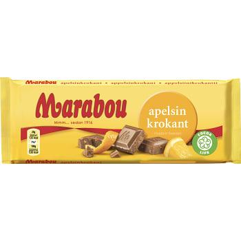 Chokladkaka Apelsinkrokant 100g Marabou