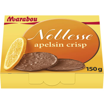 Noblesse Apelsin Crisp 150g Marabou
