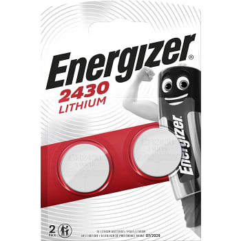 Knappcell CR2430 Lithium 2-p Energizer