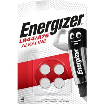 Knappcell 1,5V LR44/A76 4-p Energizer