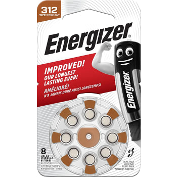 Hörapparatsbatteri 312 TL8 8-pack Energizer