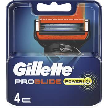 Rakblad Pro Glide Power 4-p Gillette
