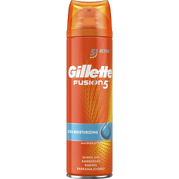 Rakgel Fusion Moisturising 200ml Gillette