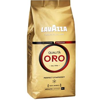 Kaffe, Hela Bönor, Qualita Oro, 500g, LavAzza