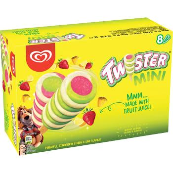 Glass Mini Twister 8-pack GB Glace