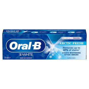 Tandkräm 3DW Arctic fresh 75ml Oral-B