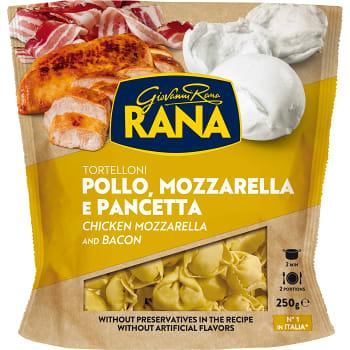 Tortelloni Kyckling mozzarella & pancetta 250g Rana