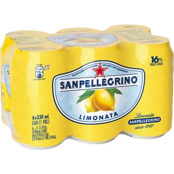Läsk Limonata 33cl 6-p San Pellegrino
