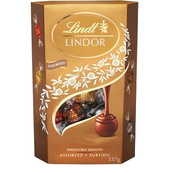 Chokladpraliner Lindor Mixad 337g 1-p Lindt
