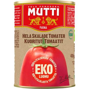 Hela Skalade Tomater 400g KRAV Mutti