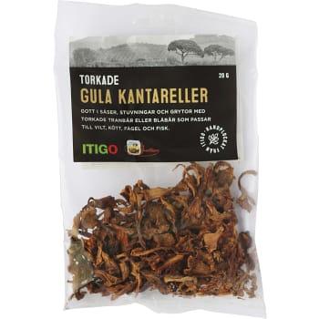 Kantarell Gul Torkad 20g