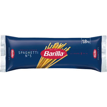 Spaghetti 1,8kg Barilla