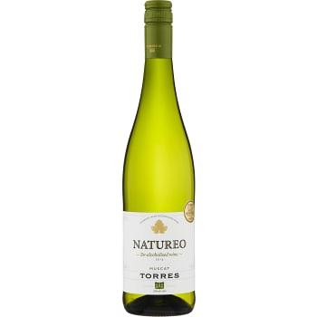Natureo Muscat Vitt vin Alkoholfri 75cl Torres