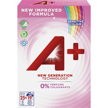 Tvättmedel Sensitive Color 833g A+