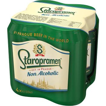 Öl Alkoholfri 33cl 4-p Staropramen