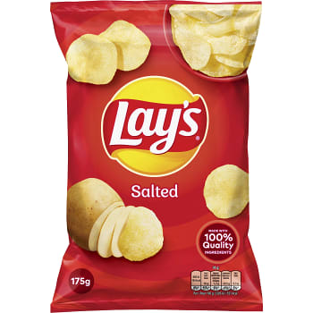 Chips Salted 175g Lay´s