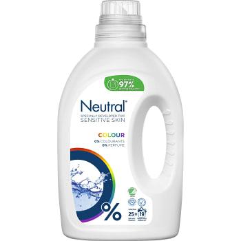 Tvättmedel Flytande Färg 1l Miljömärkt Neutral