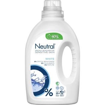 Tvättmedel Flytande Vit 1l Miljömärkt Neutral