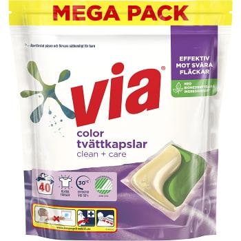 Tvättkapslar Color 40-P