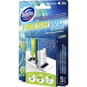 WC-Sticks Lime 5-p Domestos
