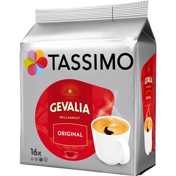 Kaffekapslar Gevalia16st Tassimo