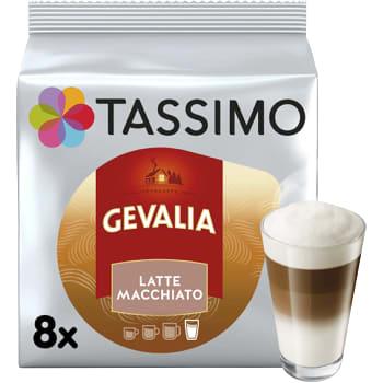 Kaffekapslar, Gevalia, 8st, Tassimo