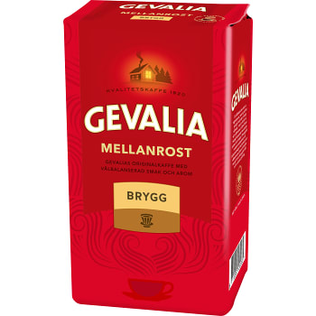 Bryggkaffe Mellanrost 450g Gevalia
