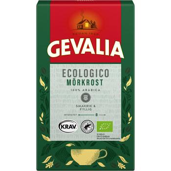 Bryggkaffe Ecologico Mörkrost 425 KRAV Gevalia