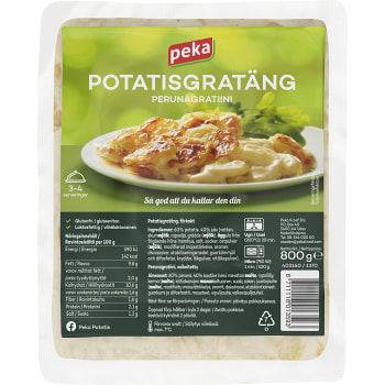Potatisgratäng 800g Peka
