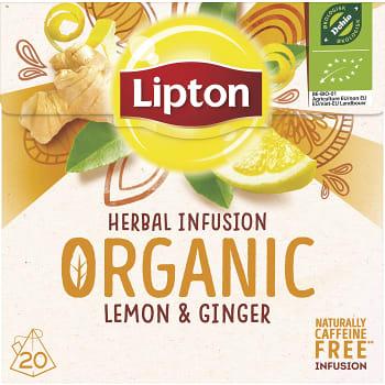 Örtte Organic Lemon & ginger 20-p Lipton