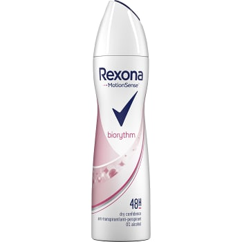 Biorythm Deodorant Spray 150ml Rexona