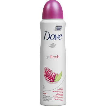 Go fresh Pomegranate Deodorant spray 150ml Dove