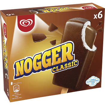 Glass Nogger 6-pack GB Glace