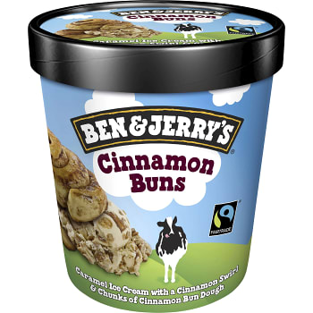 Glass Cinnamon buns 500ml Ben & Jerry's