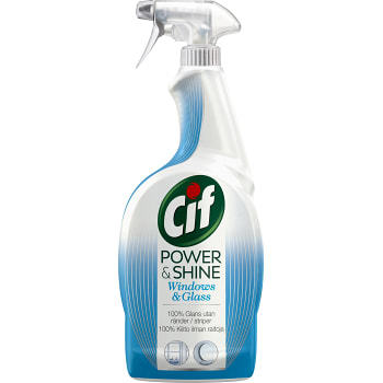 Fönsterspray Power & shine 750ml Cif