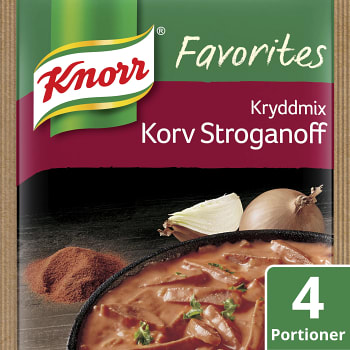 Korv Stroganoff Kryddmix 50g Knorr