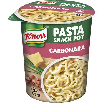 Färdigmat Pasta Carbonara Snack pot 71g Knorr
