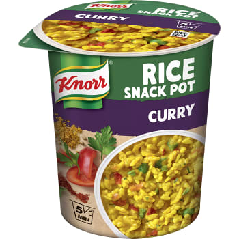 Ris Curry Snack pot 87g Knorr