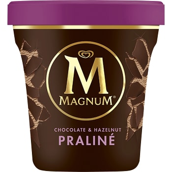 Glass Chocolate & hazelnut 440ml Magnum