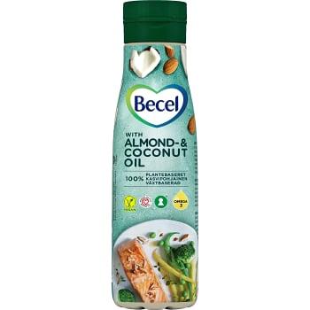 Matfett Mandel och kokosolja Flytande Laktosfri 500ml Becel