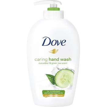 Fresh touch Cucumber & green tea Flytande handtvål 250ml Dove