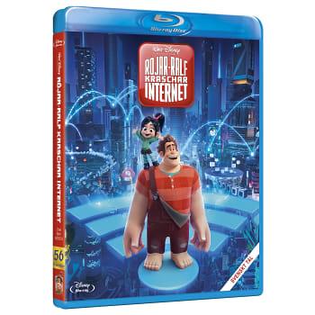 Röjar Ralf kraschar internet Blu-ray