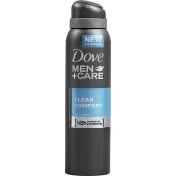 Clean comfort Deodorant Spray 150ml Dove men care