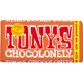 Choklad Karamell Ljus 180g Tony's Chocolonely