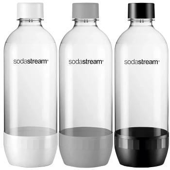 Kolsyre PET-flaskor 3x1l Sodastream