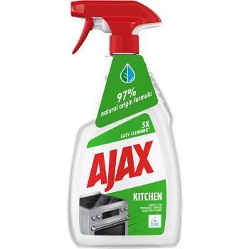 Rengöringsmedel Kök Spray Miljömärkt 750ml Ajax
